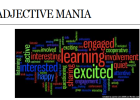 Webquest: Adjective mania | Recurso educativo 35154