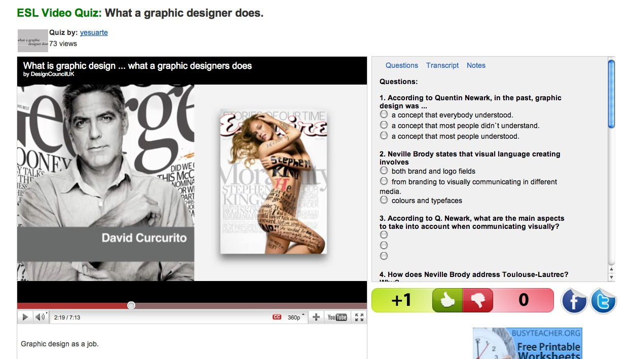 Video: What a graphic designer does | Recurso educativo 39174