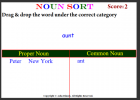 Noun sort | Recurso educativo 42095