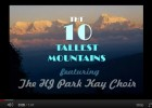 The Ten Tallest Mountains | Recurso educativo 44231