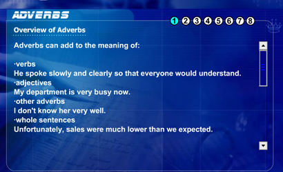 Grammar: Adverbs | Recurso educativo 48200