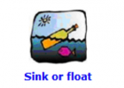 Sink or float | Recurso educativo 48258