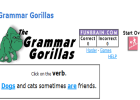 The grammar gorillas | Recurso educativo 49235