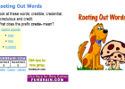 Rooting out words | Recurso educativo 49251