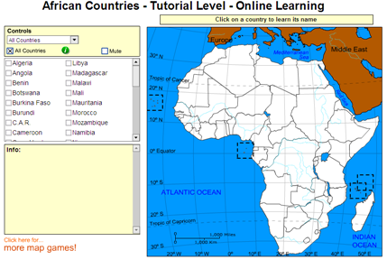 Learn African countries | Recurso educativo 49591