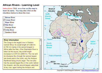 African rivers | Recurso educativo 49611