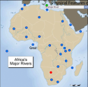 Map quiz: Physical features of Africa | Recurso educativo 58742