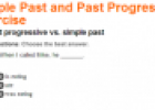 Simple past and past progressive | Recurso educativo 61806