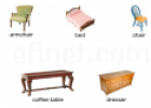 Furniture vocabulary | Recurso educativo 11016
