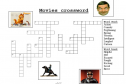 Movies crossword | Recurso educativo 12534