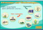 Advantages and disadvantages of renewable energy | Recurso educativo 17901