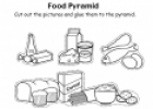 The food pyramid (worksheet) | Recurso educativo 18416