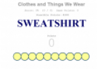 Clothes (Spelling & Typing game) | Recurso educativo 19572