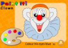 Paint the clown | Recurso educativo 25657