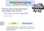 The internet seach challenge | Recurso educativo 31444