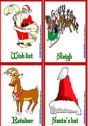 Christmas flashcards | Recurso educativo 62612