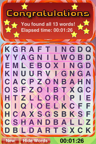 Word search kids | Recurso educativo 69647