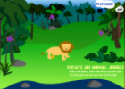 Create an animal jungle | Recurso educativo 71601