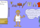 Dress a Roman soldier | Recurso educativo 73354
