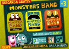 Moster Band: Board Games | Recurso educativo 101218