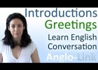 Introductions & Greetings - Learn English Conversation | Recurso educativo 111698