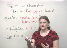Conversation skills - Speak with confidence | Recurso educativo 121667