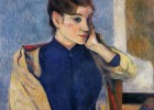 "Picture of ""Madame Bernard"" by Paul Gauguin 