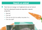 Descripció d'un animal | Recurso educativo 769471