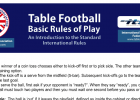 Table Football Rules | Recurso educativo 780651
